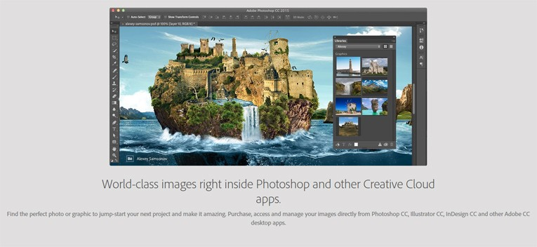 adobe stock integrates other apps